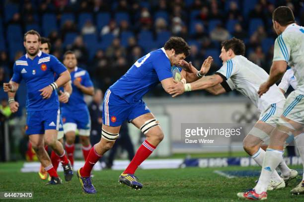 Damien CHOULY Italie / France Tournoi des 6 Nations Rome Photo Dave Winter / Icon Sport