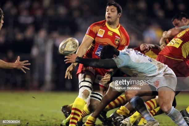 Damien CHOULY Bayonne / Perpignan 14e journee Top 14