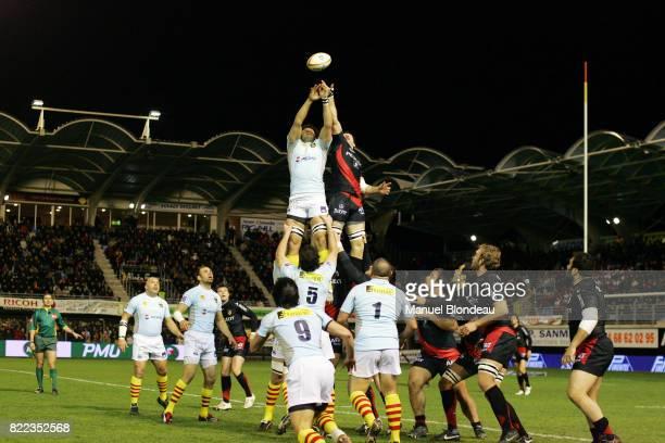 Damien CHOULY / Jean BOUILHOU Perpignan / Stade Toulousain 19eme journee de Top14