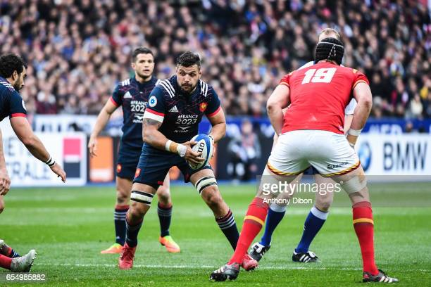 Damien Chouly of France during the RBS Six Nations match between France and Wales at Stade de France on March 18 2017 in Paris France