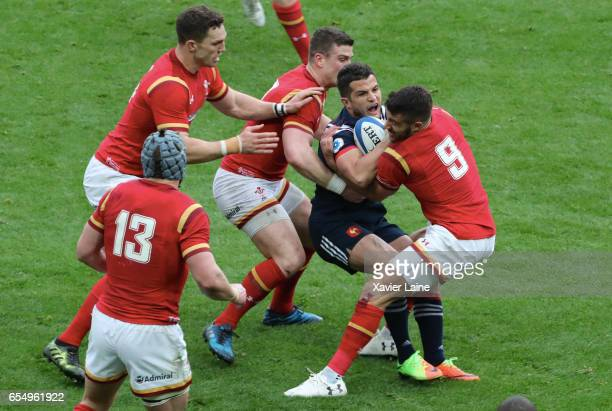 Damien Chouly of France in action during the RBS Six Nations match between France and Wales at Stade de France on March 18 2017 in Paris France