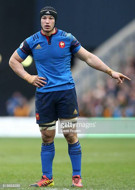 Damien Chouly of France looks on during the RBS Six Nations match between Scotland and France at Murrayfield Stadium on March 13 2016 in Edinburgh...