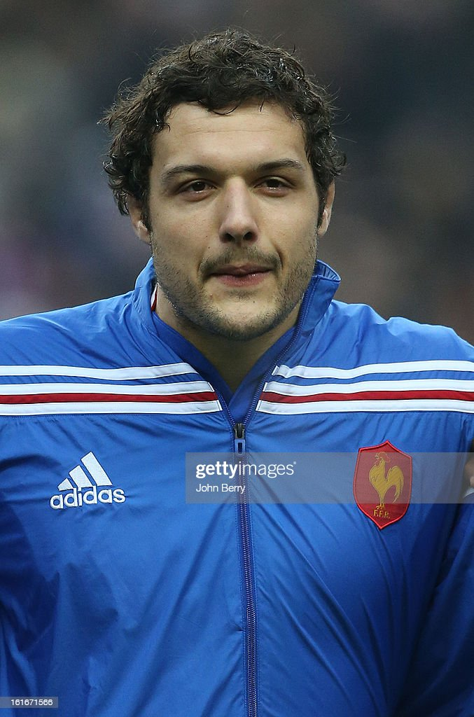 Damien Chouly of France poses before the 6 Nations match between France and Wales at the Stade de France on February 9, 2013 in Paris, France.
