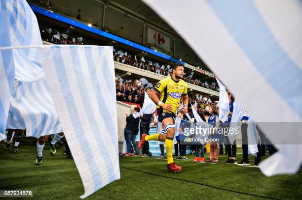 Damien Chouly of Racing 92 during the Top 14 match between Racing 92 and Clermont Auvergne at Stade PierreMauroy on March 25 2017 in Lille France