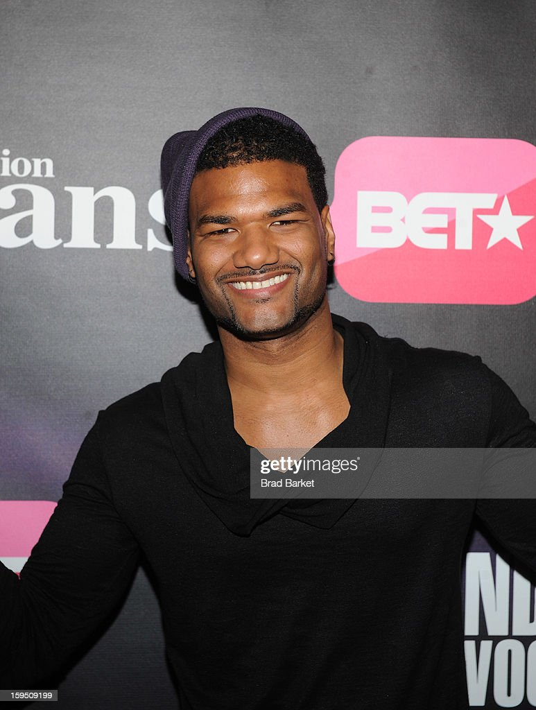 Damien Danie Wayans attends BET Networks New York Premiere Of 'Real Husbands of Hollywood' And 'Second Generation Wayans' at SVA Theater on January 14, 2013 in New York City.