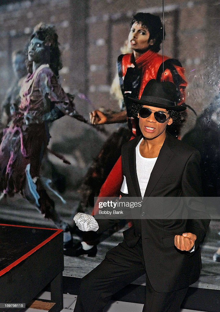 Damien Deshaun Smith as 'Michael Jackson'attends Totally Tubular Time Machine at Culture Club on January 19, 2013 in New York City.