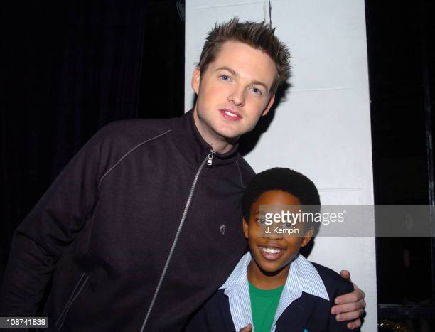 Damien Fahey and Malcolm David Kelley during Crush Night Club Opening Hosted by Damien Fahey at 539 West 21st Street in New York City New York United...