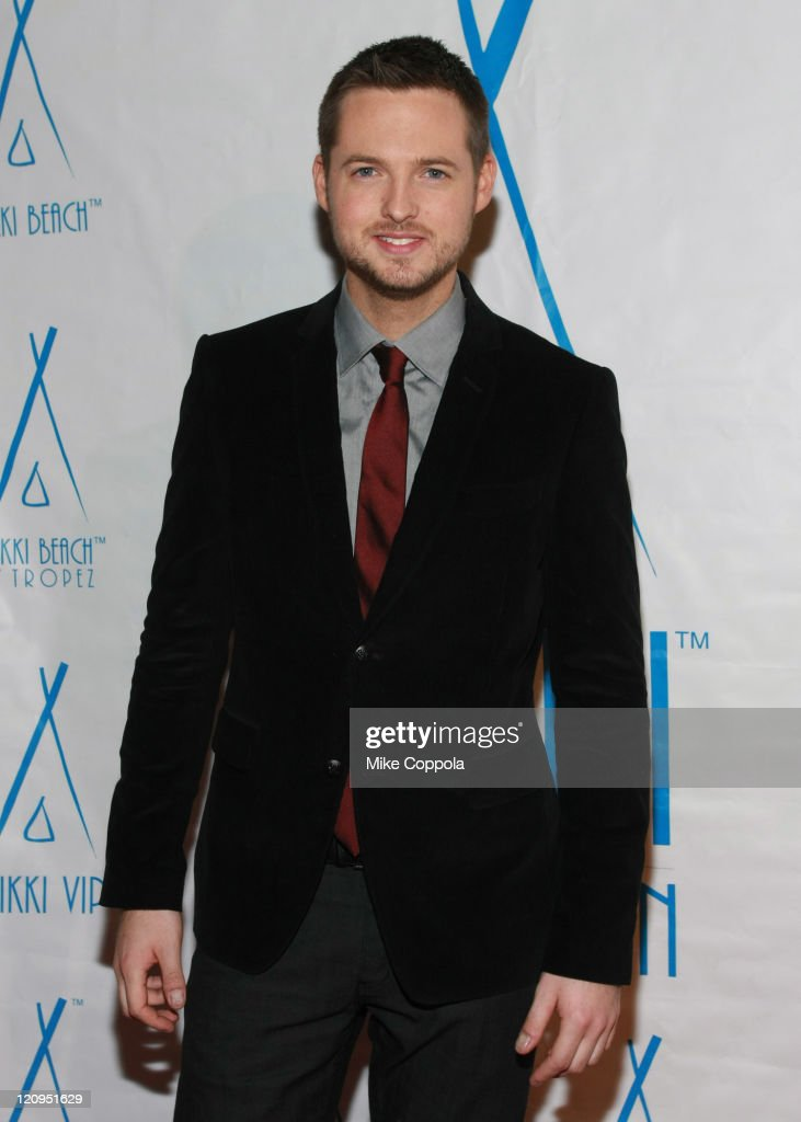 Damien Fahey attends Damien Fahey's 'Total Request Live' Wrap Party at Nikki Beach Midtown on November 16, 2008 in New York City.