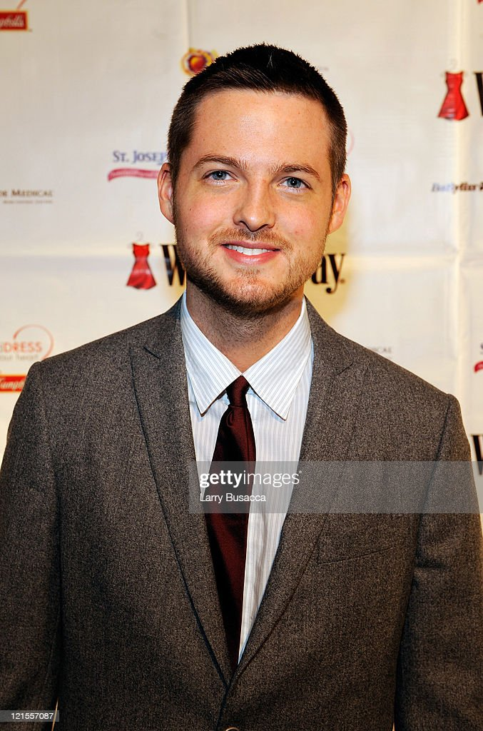 Damien Fahey attends the 6th Annual Woman's Day Red Dress Awards at the Allen Room in Frederick P. Rose Hall, Jazz at Lincoln Center on February 11, 2009 in New York City.