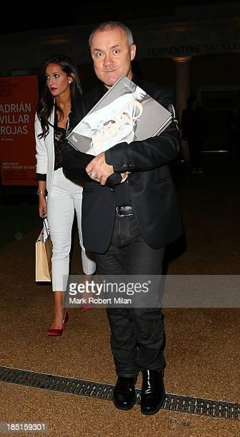 Damien Hirst attending the Chloe Attitudes book launch party on October 17 2013 in London England