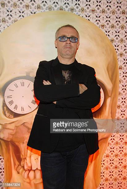 Damien Hirst attends Special Performance by The Hours at the Prada New York Epicenter