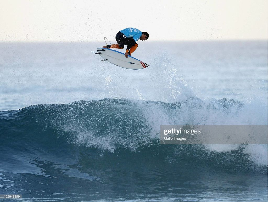 Damien Hobgood during day 3 of the Billabong Pro surf World Championship Tour Stage 4 on July 17 2010 in Jeffreys Bay South Africa