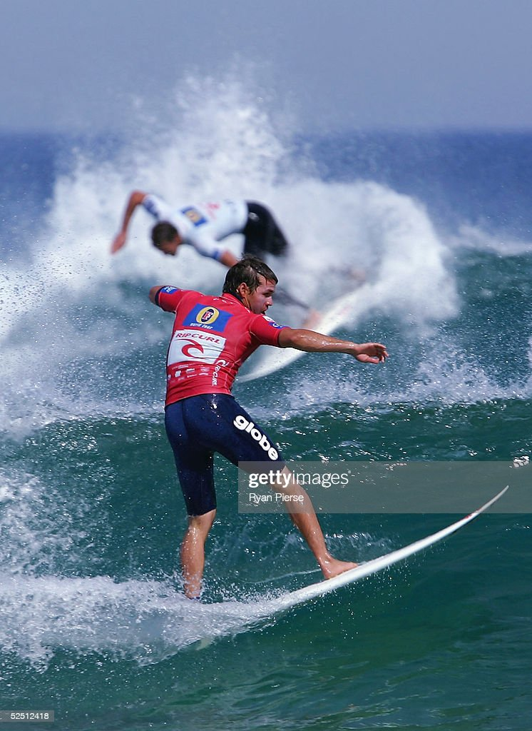 Damien Hobgood of the USA in action during the Rip Curl Pro which is round two of the ASP World Championship Tour at Woolamai Beach on March 31 2005...