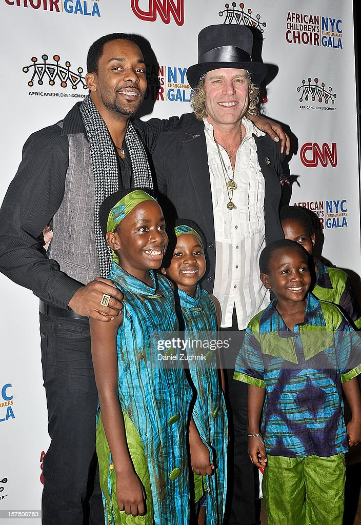 Damien Horne, Big Kenny and the African Children's Choir attend the 4th annual African Children's Choir Fundraising Gala at City Winery on December 3, 2012 in New York City.