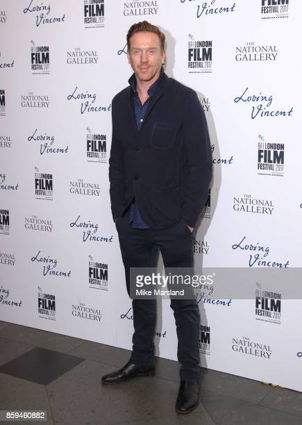Damien Lewis attends the UK Premiere of 'Loving Vincent' during the 61st BFI London Film Festival on October 9 2017 in London England