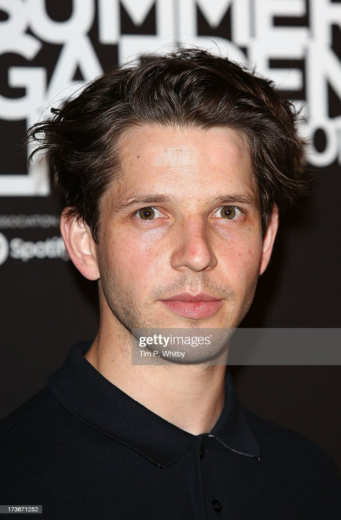 Damien Molony attends Emporio Armani's Summer Garden Live 2013 on July 16, 2013 in London, England.