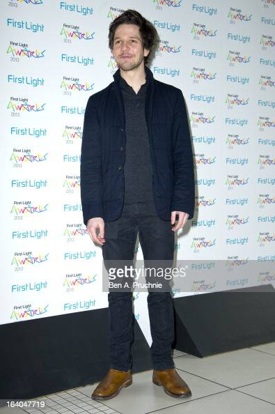 Damien Molony attends the First Light Awards at Odeon Leicester Square on March 19 2013 in London England