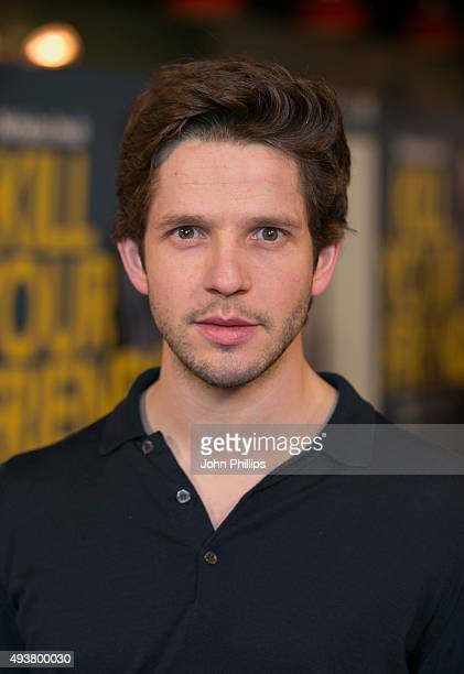 Damien Molony attends the 'Kill Your Friends' UK Premiere at Picturehouse Central on October 22 2015 in London England
