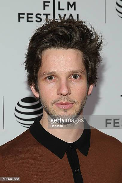 Damien Molony attends the premiere of 'Tiger Raid' Premiere during the 2016 Tribeca Film Festival at Chelsea Bow Tie Cinemas on April 17 2016 in New...