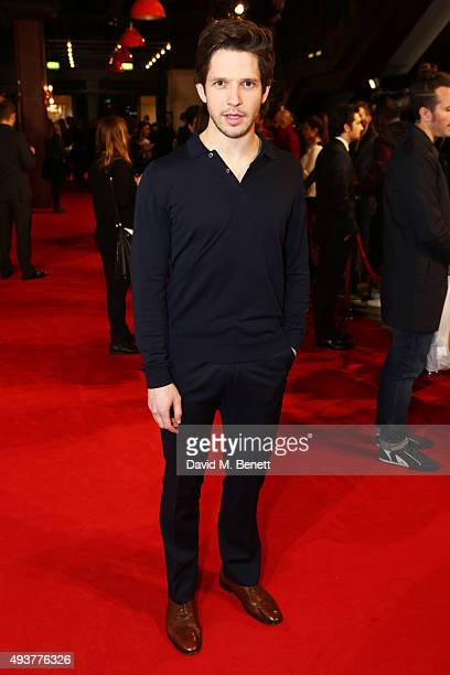 Damien Molony attends the UK Premiere of 'Kill Your Friends' at the Picturehouse Central on October 22 2015 in London England