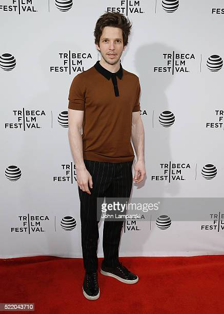 Damien Molony attends 'Tiger Raid' Premiere during 2016 Tribeca Film Festival at Chelsea Bow Tie Cinemas on April 17 2016 in New York City