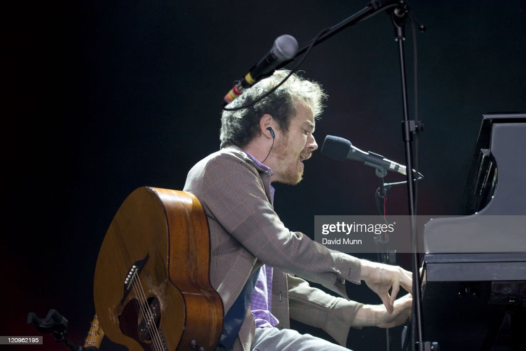 Damien Rice Performs at the Peace and Love Festival in Sweden - June 28, 2007