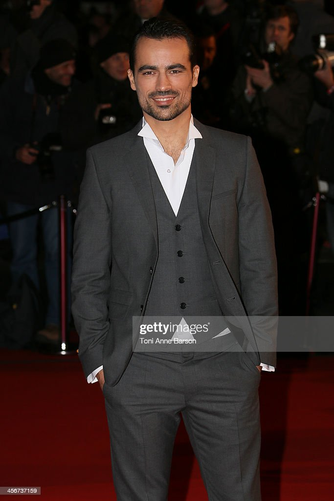 Damien Sargue arrives at the 15th NRJ Music Awards at the Palais des Festivals on December 14, 2013 in Cannes, France.