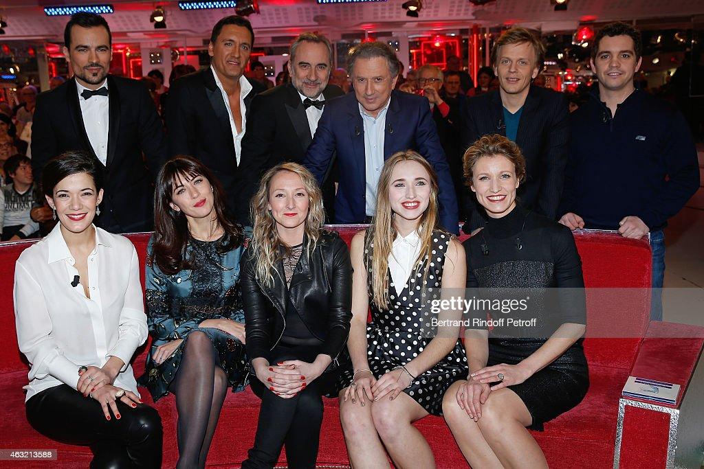 39 vivement dimanche 39 french tv show at pavillon gabriel in paris getty images - Damien thevenot ses parents ...