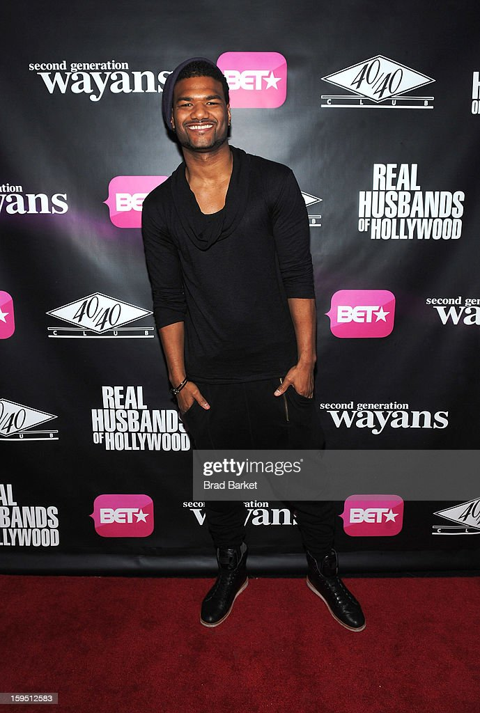 Damien Wayans attends BET Networks New York Premiere Of 'Real Husbands of Hollywood' And 'Second Generation Wayans' - After Party at 40 / 40 Club on January 14, 2013 in New York City.