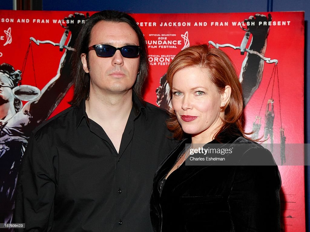 Damien Wayne Echols and producer Lorri Davis attend the 'West Of Memphis' premiere at Florence Gould Hall on December 7, 2012 in New York City.