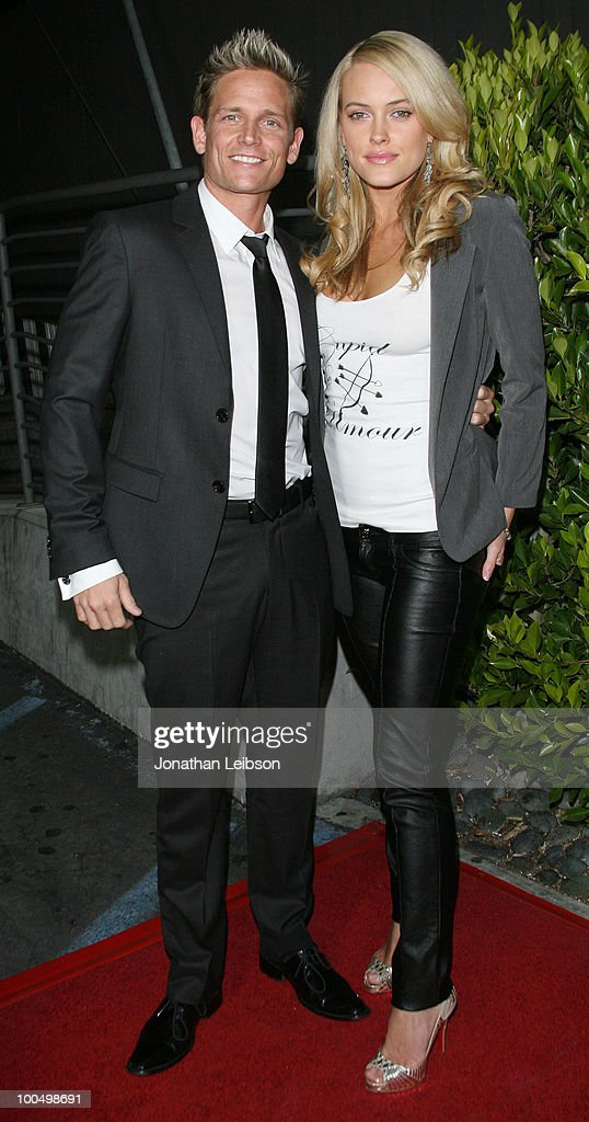 Damien Whitewood and Peta Murgatroyd attend the Birthday Celebration For Edyta Sliwinska From 'Dancing With The Stars' at XIV on May 24, 2010 in West Hollywood, California.