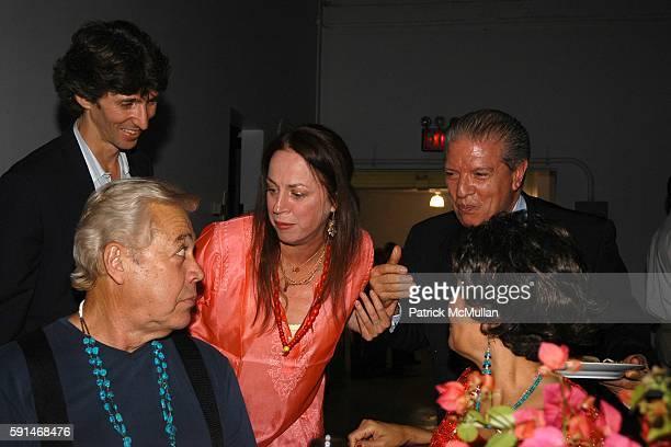 Damien Woetzel Papa Jo Heather Watts and Mama Jo attend Jock Soto's Retirement from New York City Ballet Celebration at Super Industrial Studio on...