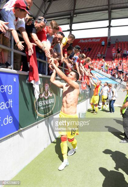 Damir Kreilach of 1 FC Union Berlin after the game between FC Ingolstadt and Union Berlin on july 29 2017 in Berlin Germany