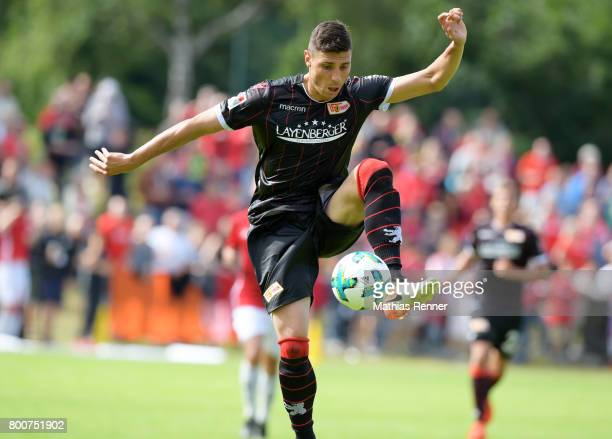 Damir Kreilach of 1 FC Union Berlin during the game between Friedrichshagener SV and Union Berlin on june 25 2017 in Berlin Germany