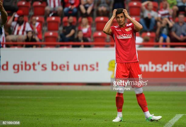 Damir Kreilach of 1 FC Union Berlin during the game between Union Berlin and the Queens Park Rangers on july 24 2017 in Berlin Germany