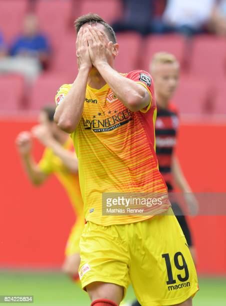 Damir Kreilach of 1FC Union Berlin during the game between FC Ingolstadt and Union Berlin on july 29 2017 in Berlin Germany