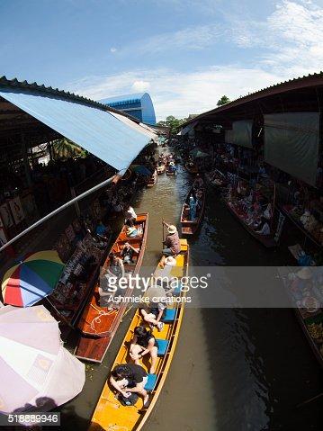 Damnoen Saduak Floating Markets Thailand