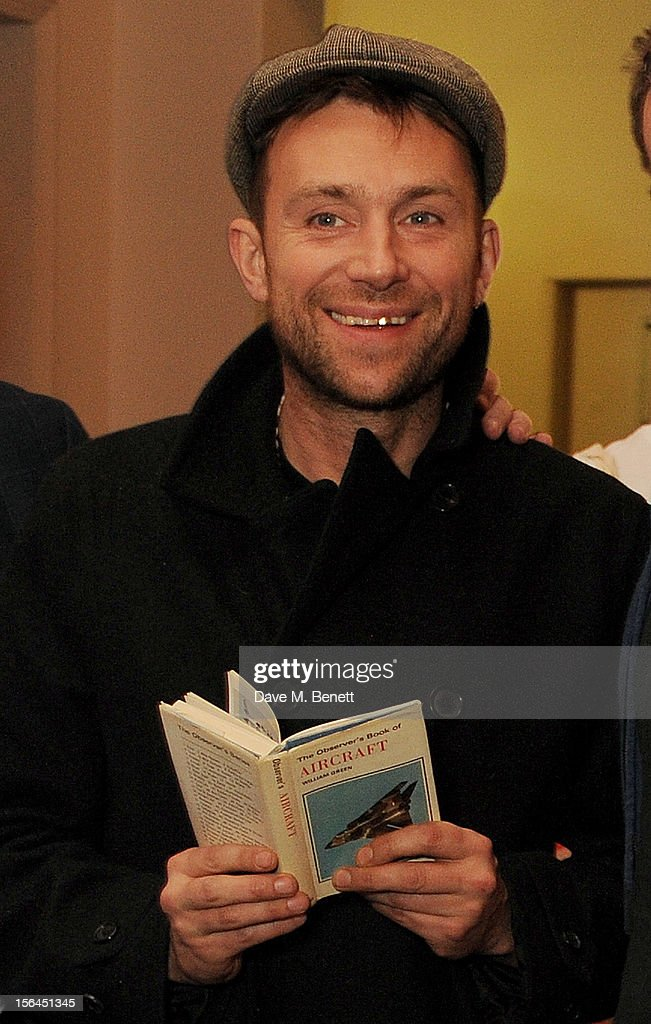 <a gi-track='captionPersonalityLinkClicked' href=/galleries/search?phrase=Damon+Albarn&family=editorial&specificpeople=207168 ng-click='$event.stopPropagation()'>Damon Albarn</a> attends the launch of the Bella Freud pop-up boutique at Bicester Village on November 15, 2012 in Bicester, England.