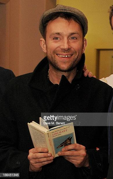 Damon Albarn attends the launch of the Bella Freud popup boutique at Bicester Village on November 15 2012 in Bicester England