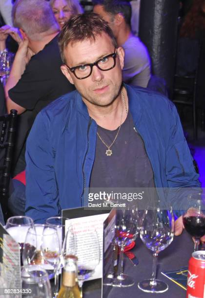 Damon Albarn attends The Q Awards 2017 in association with Absolute Radio at The Roundhouse on October 18 2017 in London England