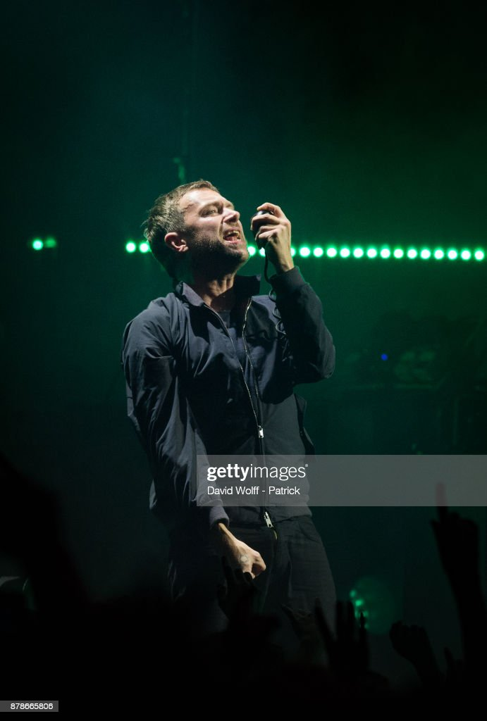 Gorillaz Performs At Zenith In Paris