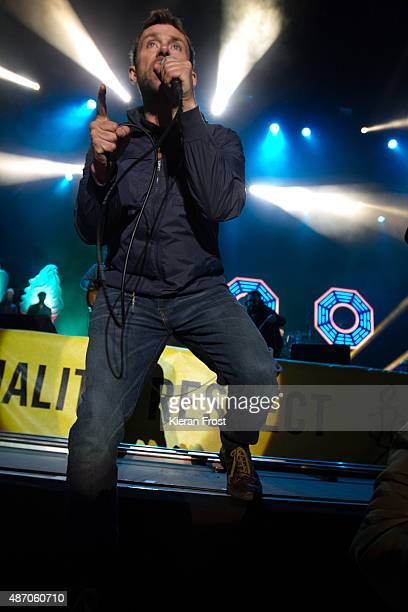 Damon Albarn of Blur performs at Electric Picnic on September 5 2015 in Stradbally Ireland