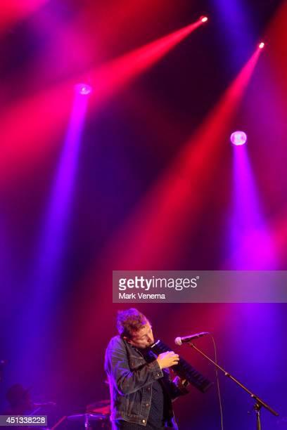 Damon Albarn performs at Day 1 of Down The Rabbit Hole Festival at De Groene Heuvels on June 27 2014 in Beuningen Netherlands