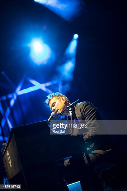 Damon Albarn performs at Queen Mary University on May 1 2014 in London England