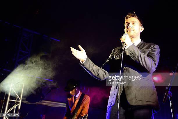 Damon Albarn performs at The Rivoli Ballroom on April 30 2014 in London England