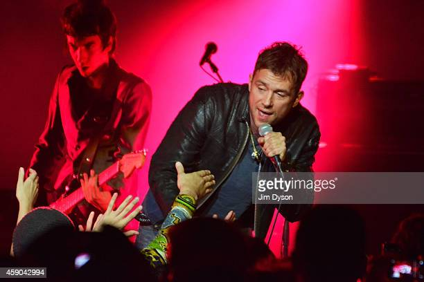 Damon Albarn performs live on stage with his band 'The Heavy Seas' at Royal Albert Hall on November 15 2014 in London United Kingdom