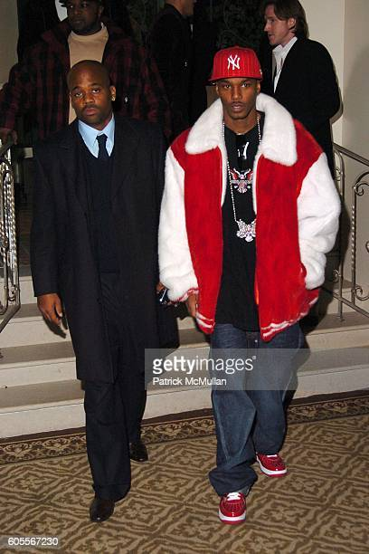 Damon Dash and Cam'ron attend Afterparty for the MARC JACOBS Fall 2006 Fashion Show at 24 Fifth Ave on February 6 2006 in New York
