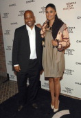 Damon Dash and Rachel Roy during 6th Annual Tribeca Film Festival 2nd Annual Chanel Dinner April 26 2007 at The Bowery Hotel in New York City New...