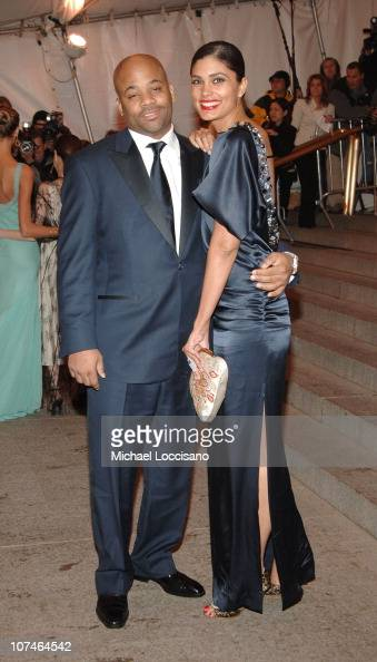 Damon Dash and Rachel Roy during 'Chanel' Costume Institute Gala Opening at the Metropolitan Museum of Art Arrivals at Metropolitan Museum of Art in...