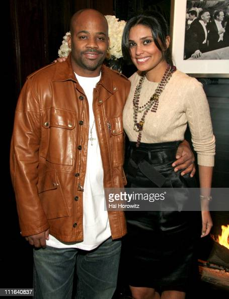 Damon Dash and Rachel Roy during Cocktail Reception to Celebrate Ricky Lauren's Book 'Ricky Lauren Cuisine Lifestyle and Legend of the Double RL...